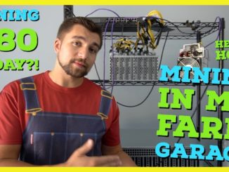 I Built a Crypto Mining Farm in My Garage | How To Setup a Mining Farm | Mining $80 a day