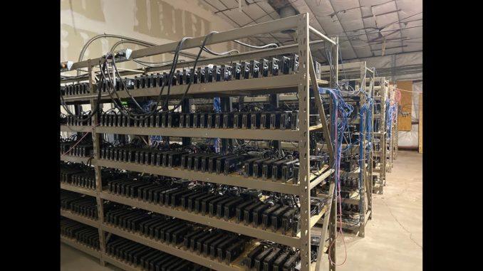 How do you service a 2500GPU Cryptocurrency Mining Farm