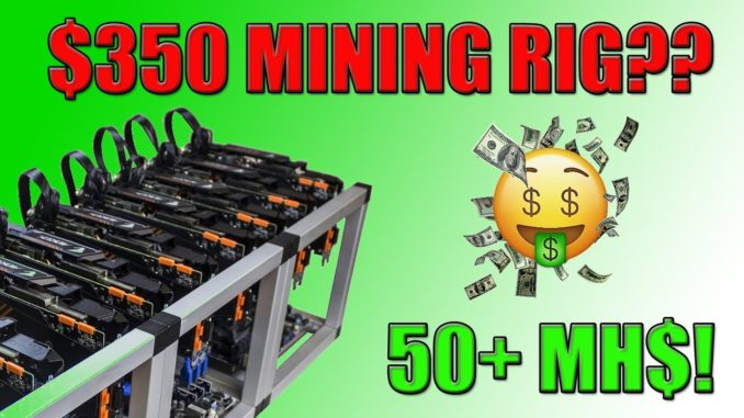 BUILDING THE CHEAPEST CRYPTOCURRENCY ETHEREUM MINING RIG!