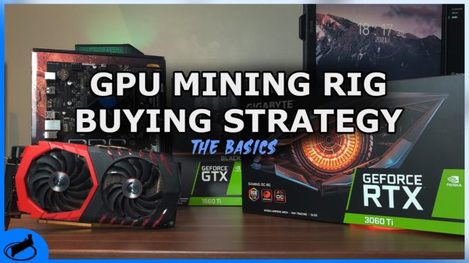 GPU Mining Rig Buying Guide - All You Need To Know | The Basics