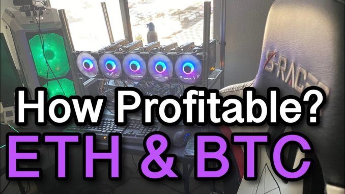 How Much I Earn Mining Ethereum in 2021 | Bitcoin Mining Profitability