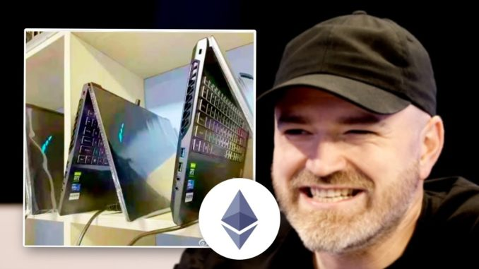 Now They're Using Laptops for Crypto Mining...