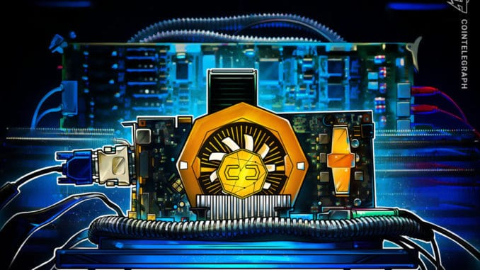 GPU price inflation dips slightly as Ether downtrend continues