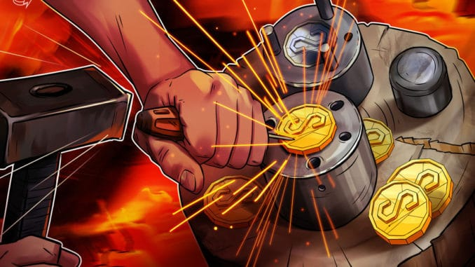 Stablecoin activity drops after May peak