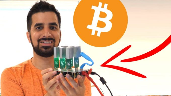 USB Bitcoin Miner - The Power of 1000's Computers