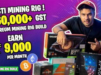 Budget Mining Rig | Sasti Mining Rig Build Under ₹65,000 + GST