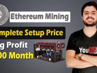 How to Start Ethereum Mining Complete Setup Price and Details | Big Profit Today