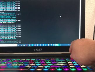 Mining cryptocurrency on MSI gaming laptop