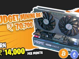 RTX 3060 ₹70,700 Budget Ethereum Mining Rig Build   49 mhs  